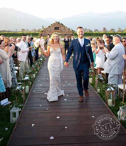 People Magazine: Broadway Star's Elaborate Country Themed Wedding